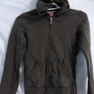 JUICY COUTURE, small, s, brown full zip hoodie